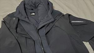 ノースフェイスマウンテンジャケットのサイズ感